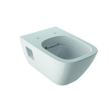 Geberit Renova Plan hangend toilet rimfree KeraTect, wit