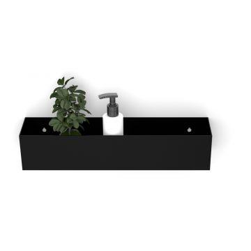 Looox Colour shelf box 30cm. mat zwart, mat zwart