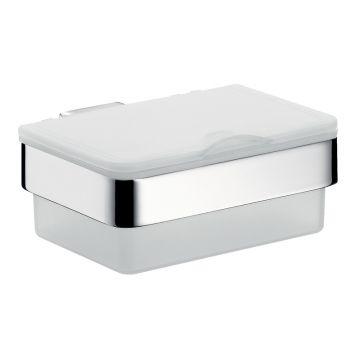Emco Loft box voor vochtige doekjes 6 x 15,5 x 15,4 cm, chroom