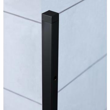 Sub 65 verbredingsprofiel v. zijwand 20x1933mm mat zwart, mat zwart