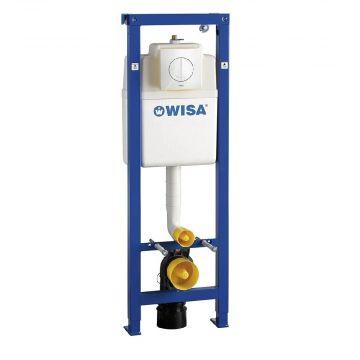 WISA XS inbouwreservoir met Argos bedieningspaneel, wit