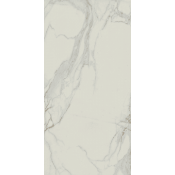 Sub 1737 tegel 60x120 cm, gepolijst marmer wit, wit