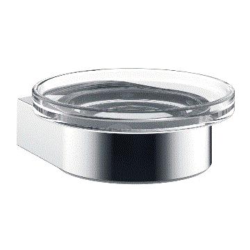 Emco Flow zeephouder 3,4 x 8,9 x 9,9 cm, chroom