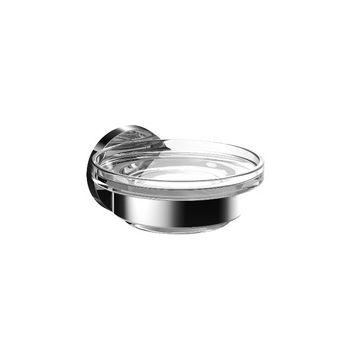 Emco Round zeephouder met kristalglas, chroom