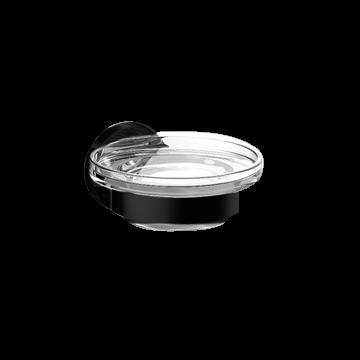 Emco Round zeephouder met kristalglas, zwart