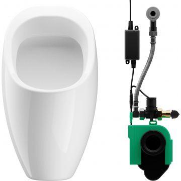 Wisa Ipee rond urinoir met infrarood sturing 230v, wit