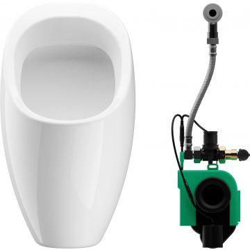 Wisa Ipee rond urinoir met infrarood sturing batterij 6v, wit