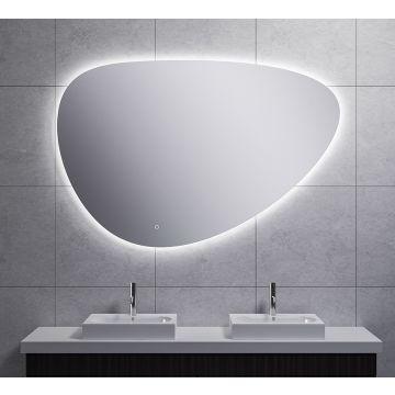 Wiesbaden Uovo condensvrije led- spiegel dimbaar 140 cm