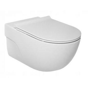 Laufen Roca Meridian hangend toilet rimless inclusief zitting, wit