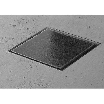 Easy Drain Aqua jewels vloerafvoer 10x10cm voor natuursteen max 30mm dik