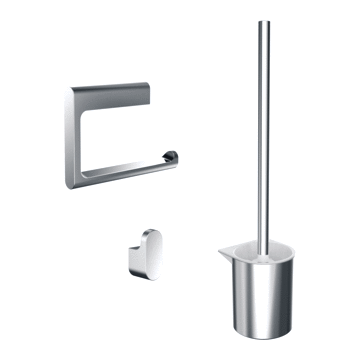 Emco Flow toiletaccessoireset, chroom