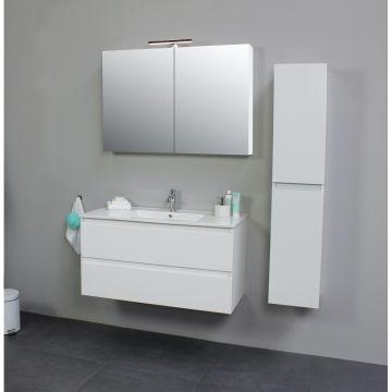Sub Online zijpanelen voor spiegelkast 60x14x2 cm, hoogglans wit