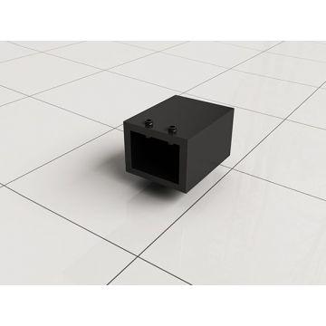 Slim muurkoppeling stabilisatiestang mat-zwart