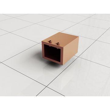 Slim muurkoppeling stabilisatiestang koper