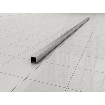 Wiesbaden Slim stabilisatiestang los 120 cm, RVS