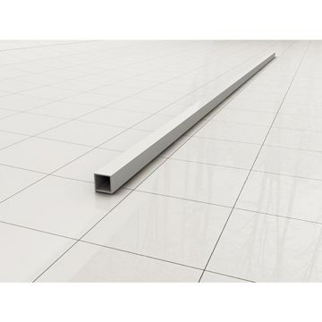 Wiesbaden Slim stabilisatiestang los 120 cm, matwit