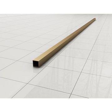 Wiesbaden Slim stabilisatiestang los 120 cm, messing