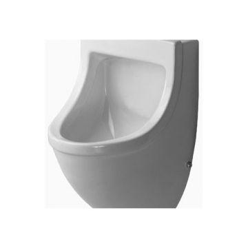 Duravit Starck 3 urinoir 330x575x350mm gesloten inc/montagemat. wit, wit