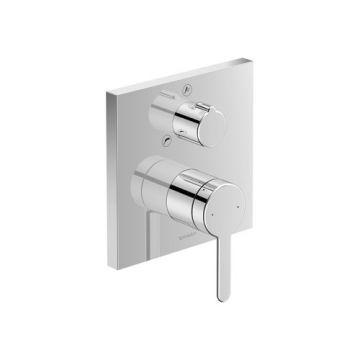 Duravit C.1 1-gr badmengkr inbouw 150x77x150mm chroom hooggl, chroom hoogglans