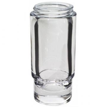Emco flacon voor zeepdispenser kristalglas helder