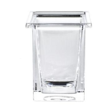 Emco glas voor glashouder kristalglas helder
