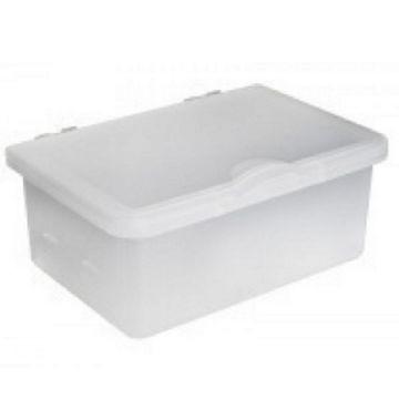 Emco reserve kunststof inzet voor tissuebox met deksel