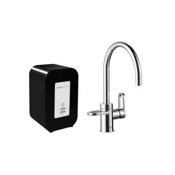 HotSpot Titanium Alessio kokend water kraan met Solo 4 liter boiler, chroom