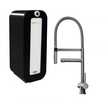 HotSpot Titanium XL kokend water kraan met Combi 8 liter boiler, RVS