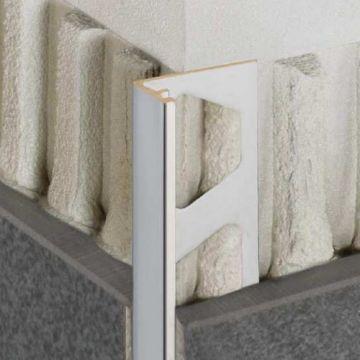 Schluter Jolly decoratief profiel steengrijs 12,5mm 250cm, steengrijs