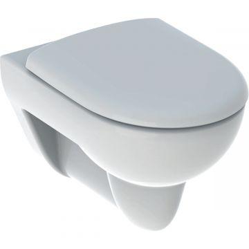 Geberit Renova wc-pack, wandcloset 54 cm diepspoel, met zitting, wit