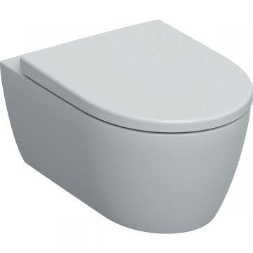 Geberit iCon wc-pack, wandcloset 53 cm met KeraTect, Rimfree en diepspoel, met Softclose- en Quick Release-zitting, wit