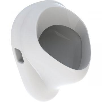 Geberit E-Con urinoir met achterinlaat, afvoer naar achteren, wit