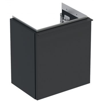 Geberit iCon fonteinonderkast 1 deur rechts 37x28 cm, mat lava
