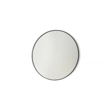 Sub 16 spiegel rond 80 cm. mat zwart, mat zwart