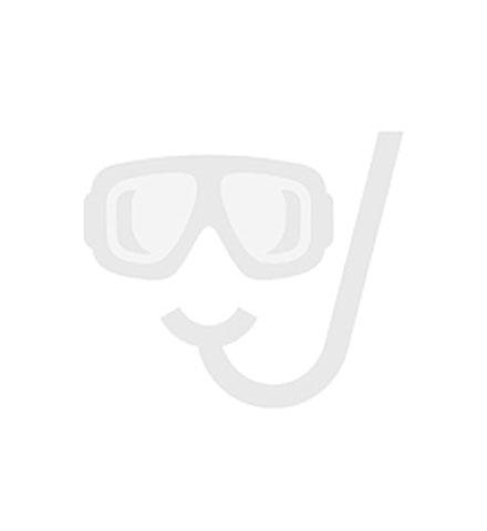 Hotbath Mate hoofddouche wandmodel, geborsteld nikkel 8719638613446 M385GN